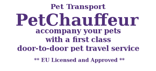 Pet Chauffeur website
